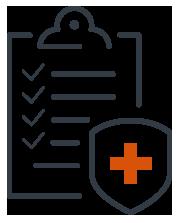 ED Cure Checklist Icon.
